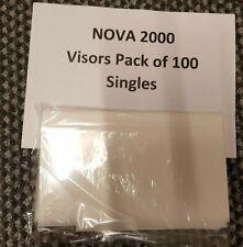 Nova 2000 Shot/Sand  BLAST HELMET -  pack of 100 SINGLE VISORS