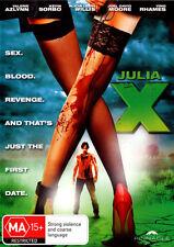 Julia X  - DVD - NEW Region 4