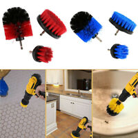 Grout Power Cleaning Drill Brush Head Scrubber Tub Tile Cleaner Combo Tool Kit