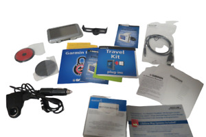 Garmin Nuvi 360 Personal Travel Assistant Auto Home Charging Cable Bundle In Box