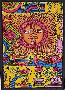 Sun Moon Star Mandala Wall Hanging Hippie Home Decor Tapestry Poster Art Throw