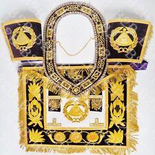 Masonic Regalia Grand Master Apron Purple