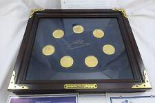 Die berühmtesten Reiterführer Friedrichs des Großen 7x Silber Medaille Vergoldet