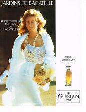 PUBLICITE ADVERTISING 094  1989  LES SENTEURS DE GUERLAIN