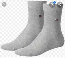 Mens Tommy Hilfiger  Socks Grey 100% Baumwolle New Size 40-43