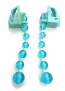 Pretty Pretty Princess Board Game 1999 Replacement Part Pieces Blue Earrings Set