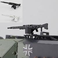 Metall mg3 Modell DIY Upgrade Teile für Bundeswehr 1:16 Leopard 2 a6 Panzer