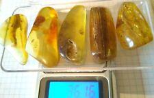Amber Polished Baltic stones bernstein natural bursztyn Pendant baltycki 36.16gr