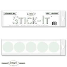 "100 - Stick-Itâ""¢ Resealable Adhesive Tabs for Comic Book & Magazine Bags - Clear"
