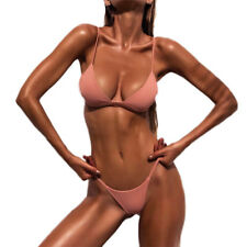 Women Ladies Bikini Set Push Up Padded Brazilian Swimwear Swimsuit Bathing Beach
