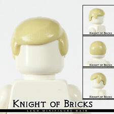 Lego Minifigure Hair TAN 3901 Male Boy Cap Wigs Business Wig