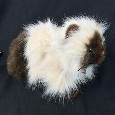 "Ganz Webkinz Persian cat Himalayan cat plush long hair Stuffed Animal 11"" in."