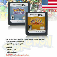 Pokemon Platinum Diamond HeartGold SoulSilver Game Cards 3DS NDSI XL