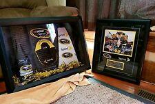 Nascar Sprint Cup Jimmie Johnson memorabilia display