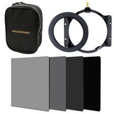 150*100mm ND Square filter kit+holder+77mm adapter+16-slots case for Cokin Z