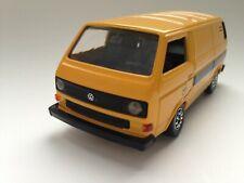 """Schabak Modell VW Transporter T3 Caravelle Syncro """"Lufthansa"""" Werbemodell 1:43"""