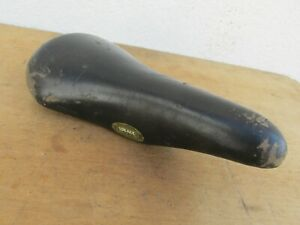 IDEALE 2002 VINTAGE ANCIEN VELO SELLE CUIR BICYCLE LEATHER SADDLE