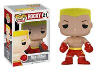 Funko Pop Movies Rocky 21 Ivan Drago Figure Rare Neuf Boite Vaulted Exclusive