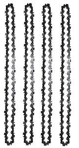 10 Sägeketten 35cm 52TG 3//8P 1,3mm passend Makita Einhell Bosch Aldi Dolmar Ikra