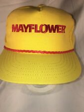 Vintage Mayflower Racing Hat - Size Adjustable - Great Condition