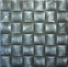Decorative Texture Ceiling Tiles Glue UP - R25 Black Silver On SALE