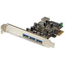 Startech.com PEXUSB3S42 4 Port PCIe USB 3.0 Card E