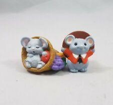 Mouse Thanksgiving Figurines