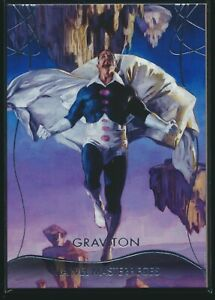 2020 Upper Deck Marvel Masterpieces Base Level 3 #68 Graviton /999