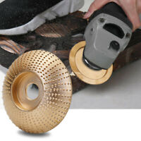 Carbide Wood Sanding Carving Shaping Disc Fits Angle Grinder/Grinding Wheel Tool