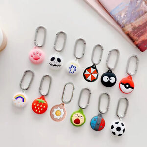 Cartoon Silicone AirTag Cover for Apple AirTags Location Tracker Protective Case