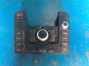 AUDI Q7 4L MMI CONTROL PANEL SAT NAV RADIO MEDIA GENUINE 4L0919610