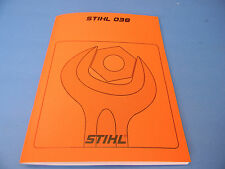 FOR STIHL CHAINSAW 038 REPAIR SERVICE MANUAL NEW 92 PAGES ------------- MAN25