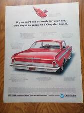 1964 Chrysler 300 2 Door Hardtop Ad