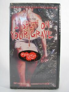 I Spit On Your Grave VHS New Factory Sealed Widescreen Collectors Edition 1999