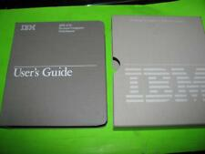 VINTAGE IBM 3270 PERSONAL COMPUTER ATTACHMENT USER'S GUIDE & SOFTWARE - 8501207