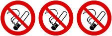 3x mini premium pegatinas prohibido fumar prohibido fumar auto pegatinas sticker aut