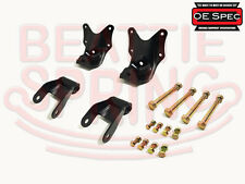 Rear Leaf Spring Rear Hanger Bracket and Shackle Kit  OE Spec  (Pair)