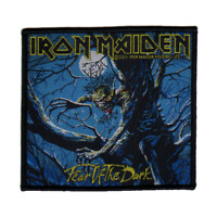 IRON MAIDEN official woven patch FEAR OF THE DARK  Aufnäher  British Heavy Metal