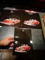 Grand Dépliant et feuillet Catalogue Roadster Bancroft Fabriqué Allemagne Ouest