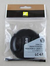 NIKON LC-67 Lens Cap 67mm AF-S 16-85mm/70-300mm VR NEW