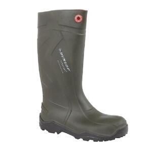 Dunlop Purofort Plus Wellies Full Wellington Boots Outdoor Waterproof Rain Boots