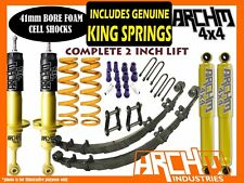 """NISSAN NAVARA D40 2005-ON ARCHM4X4 & COIL SPRINGS 2"""" INCH SUSPENSION LIFT KIT"""