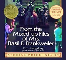 From the Mixed-Up Files of Mrs. Basil E. Frankweiler CD AUDIOBOOK Konigsburg