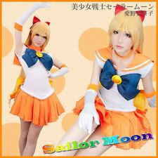 Sailor Moon Sailor Venus Mizuno Ami Aino Top Grade Cosplay Costume Full SIZE