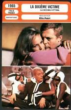 LA DIXIEME VICTIME - Mastroianni,Andress,Petri (Fiche Cinéma) 1965 - 10th Victim