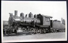 *1920's Burlington Route Locomotive # 223 ~ Otto Perry Real Photo Pc Rppc