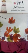 Vera Neumann BRUSH LEAF 5568 Autumn Fall Colors - Full Apron NIP