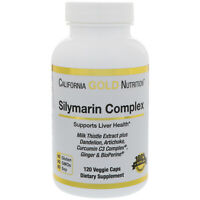 Silymarin Complex, Liver Health, with BioPerine, 300 mg, 120 Veggie Caps vegan