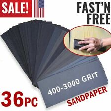 Sandpaper Sheets Sanding Paper Grit Wet & Dry for Wood Auto Car Metal Work