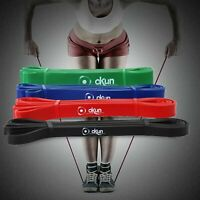 RESISTANCE BANDS PULL UP HEAVY DUTY SET OF 4 ASSISTED EXERCISE TUBE HOME GYM FIT